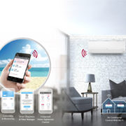 LG Reverse Cycle Split System. Built-in Wi-Fi Smart Control